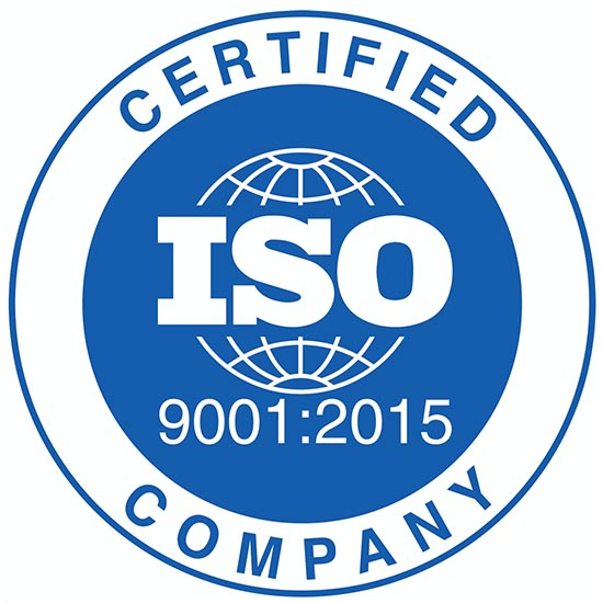 ISO 9001:9008 Certification